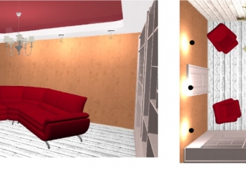 программа для визуализации натяжных потолков Ceiling Draw
