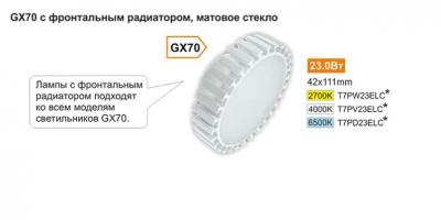 GX70 с фронтальным радиатором, матовое стекло