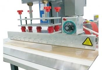Регулировка плоскости электрода 4 винтами. Держатель электрода длиной 670 мм (максимальный размер итальянских электродов).
