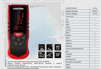 Лазерный дальномер X2 Plus CONDTROL